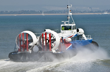 Hovertravel hovercraft ferry